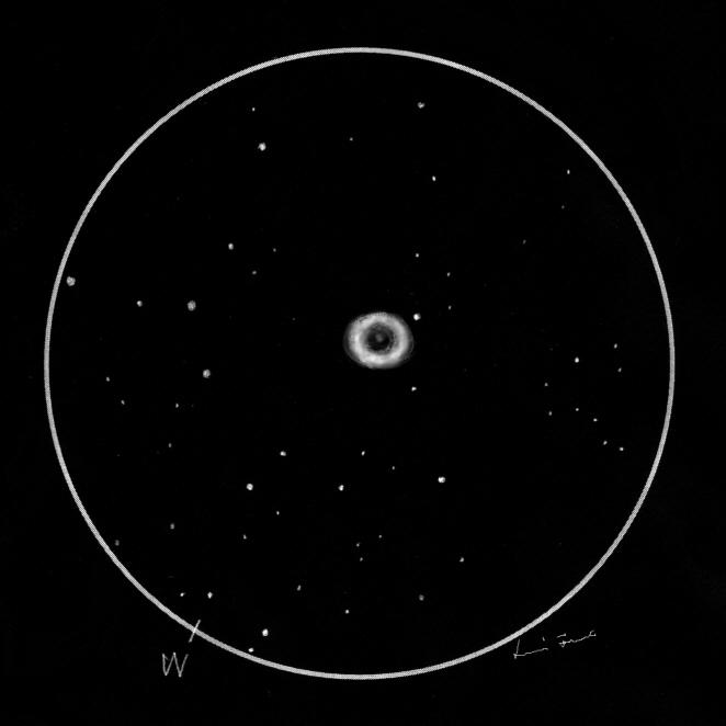 sketch ring nebula - photo #18